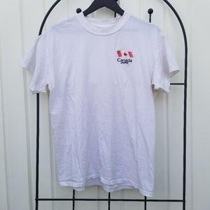 3/$33 Jasper Canada flag short sleeve tshirt